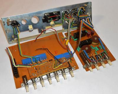 Quad 33 Rear Panel and Circuit Boards