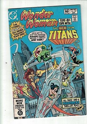 DC comic Wonder Woman The New Teen titans no 287 Jan 1982 60c USA