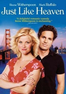 Just Like Heaven (2005 Reese Witherspoon) DVD NEW