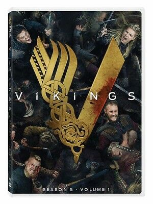 Vikings: Season 5 Volume 1 (3 Disc) DVD NEW