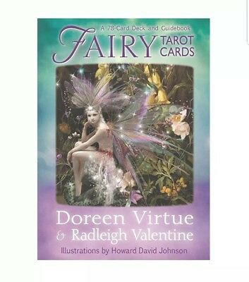 Fairy Tarot Cards 78 Card Deck W/ Guide Book New Sealed