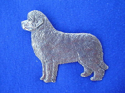 Newfoundland Standing Pin #96A dog jewelry pewter newfy by Cindy A. Conter