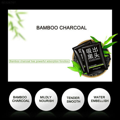 8AB9 Bamboo Charcoal Face Mask Remove Blackhead Moderate Pore Cleaning Facial