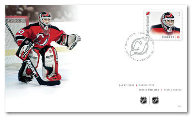2015 - NHL Goalies: Official First Day Cover - Martin Brodeur