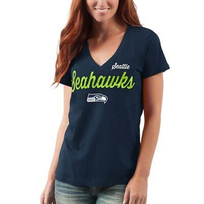 G-III 4Her by Carl Banks Seattle Seahawks Women s College Navy Post Season 78dc697d6