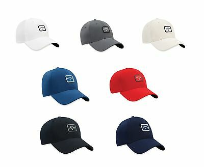 Callaway 82 Label Hat Mens Fitted Golf Cap -New 2017 - Pick Color- Size S/m