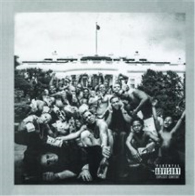 Kendrick Lamar-To Pimp a Butterfly CD NUOVO