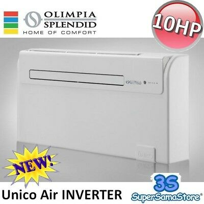 3S CLIMATIZZATORE UNICO AIR INVERTER 10 HP OLIMPIA SPLENDID POMPA DI CALORE New