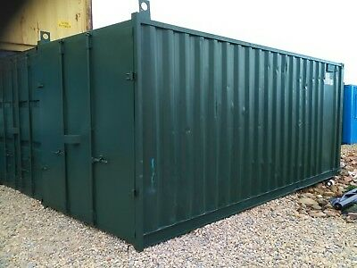 20ft  X 8ft. SHIPPING / STORAGE CONTAINER.