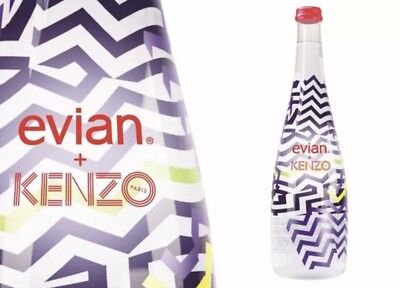 2015 Limited edition collectible Evian bottle by KENZO