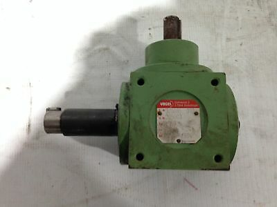 Vogel 305685 Type H1 Right Angle Gear Drive/Speed Reducer 1:1