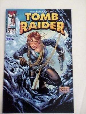 Tomb Raider #3 1999 - Image comics - MINT CONDITION - FIRST PRINTING