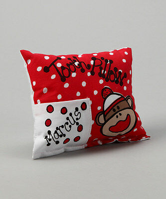 Personalized Sock Monkey Tooth Fairy Pillow