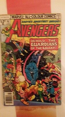 Avengers #167  1st Guardians Of The Galaxy Appearance in avengers