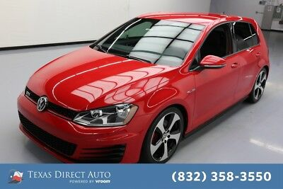 2016 Volkswagen Golf S 4dr Hatchback 6M Texas Direct Auto 2016 S 4dr Hatchback 6M Used Turbo 2L I4 16V Manual FWD