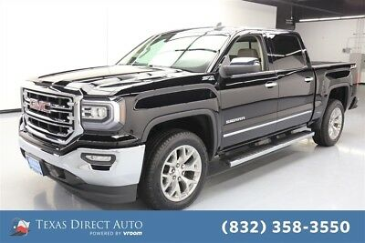2018 GMC Sierra 1500 SLT Texas Direct Auto 2018 SLT Used 5.3L V8 16V Automatic 4WD Pickup Truck Bose