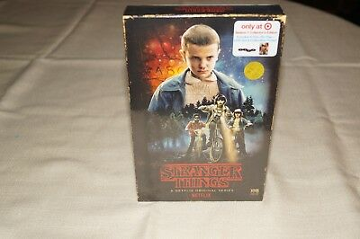 Stranger Things Season 1 Collector's Edition Blu-Ray + DVD NEW & SEALED! Target