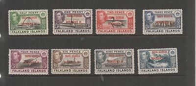 Falkland Island Dependencies 1944 South Georgia  Mnh Set Of Stamps