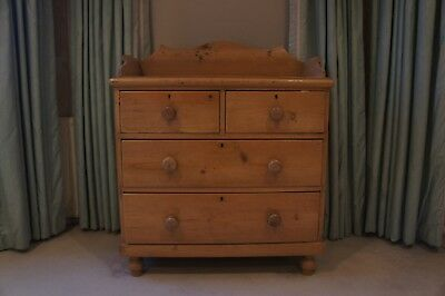 Charming antique pine chest of drawers