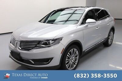 2018 Lincoln MKX Reserve Texas Direct Auto 2018 Reserve Used 3.7L V6 24V Automatic FWD SUV
