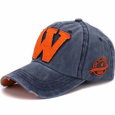 Adjustable Baseball Cap Sport Women s Fashion Style Letter «W» Cotton Hats 16ca36a5c7ca