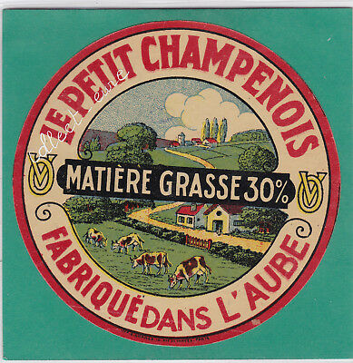 M4 Fromage Le Petit Champenois Aube Matiere Grasse 30%   V O