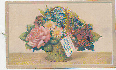 C9989  Victorian Trade Card   Palmers Lotion Soap Etc