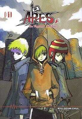 """BD Manga Ryu Geum-Chul ARES Tome 1 """"The vagrant soldier"""" (neuf)"""