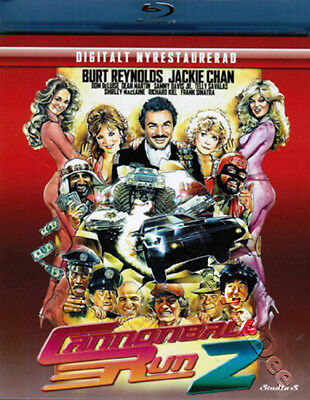 Cannonball Run 2 NEW Classic Blu-Ray Disc Hal Needham Burt Reynolds Jackie Chan