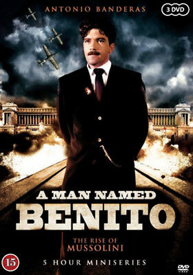 A Man Named Benito: Rise of Mussolini NEW PAL Series 3-DVD Set Antonio Banderas