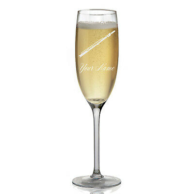 Personalized Champagne Glass - Flute