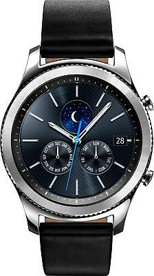 Samsung - Geek Squad Certified Refurbished Gear S3 Classic Smartwatch 46mm St...