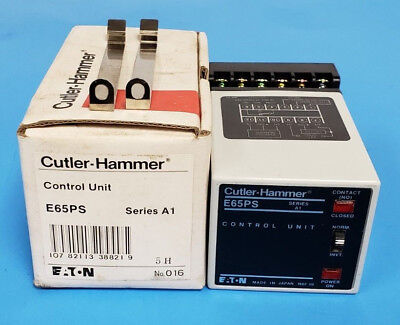 New Eaton Cutler-Hammer E65Ps Control Unit, Series A1