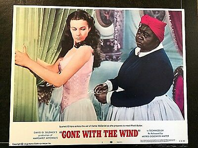 Gone With The Wind Original Lobby Card Set (8) Complete Copyright 1968 Mgm