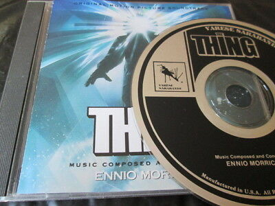 The Thing Original Movie Soundtrack 82 Cd: Ost Ennio Morricone Nr Mint