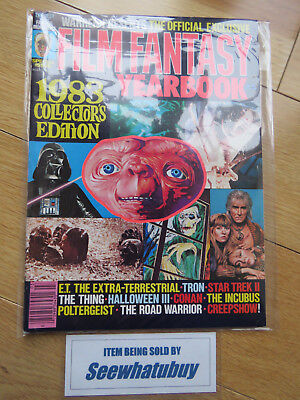 Famous Monsters Of Filmland Film Fantasy Yearbook Warren Horror Magazine 1983