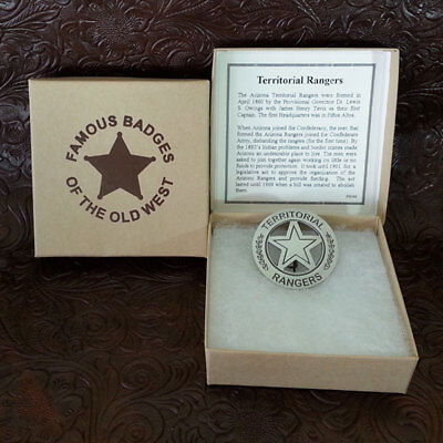 Territorial Ranger Badge Replica--Free Gift With Purchase