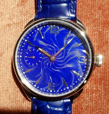 Orologio Oversize 42mm Watch Unitas 6497 Clone SAPPHIRE CRYSTAL - LUBED Movement