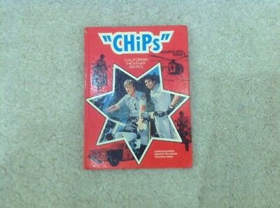 CHIPS  ANNUAL  1981 Good Condition Not Price Clipped