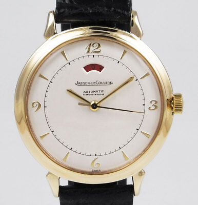 Gents Jaeger LeCoultre 9K Automatic With Power Reserve - White Dial (1959)