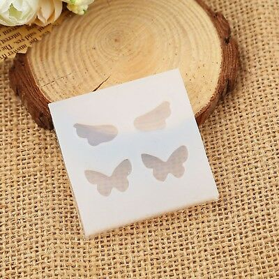 2 Silicone Resin Molds BUTTERFLY and ANGEL WINGS makes 4 cabochons, tol0920