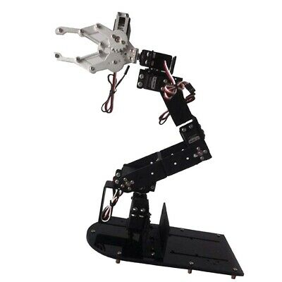 6-DOF Mechanical Robot Arm Clamp Claw Kit with Servo for Robotic Arduino DIY