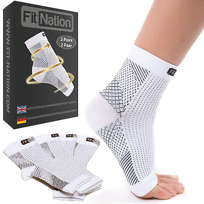 Plantar Fasciitis Socks (2 Pairs of Compression Per Pack) Ultimate Support...
