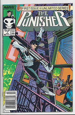 The Punisher #1 Volume 2 July 1987