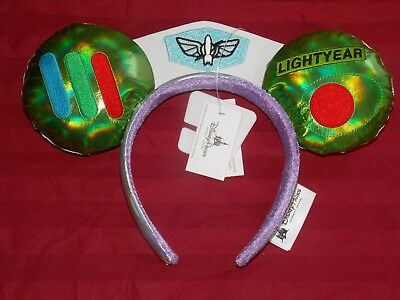 Disney Parks Toy Story Infinity And Beyond Buzz Lightyear Mickey Ears Headband