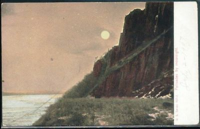 Palisades by Moonlight, New York