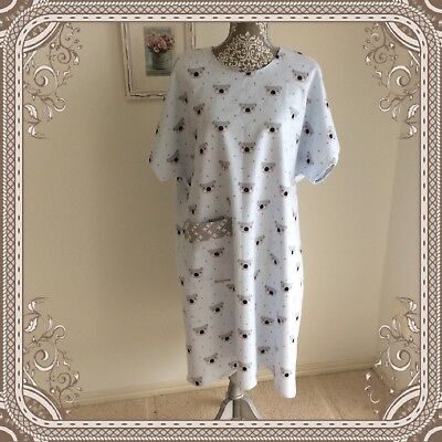 Handmade Hospital Nursing Aged Care Disability Surgery Convalescent Gown Nightie