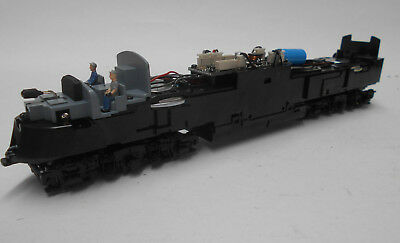 """Broadway Limited  """"e-6-A""""  Powered Drive  """"dc /dcc"""" With Sound  """"black Trucks"""""""