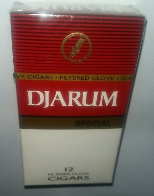 Special NEW 1 Sealed Pack (12) Djarum Cloves US SELLER! Kretek