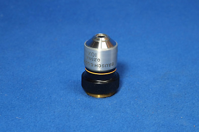 Bausch and Lomb 10x Microscope Objective